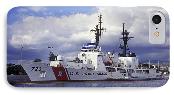United States Coast Guard Cutter Rush Phone Case by Michael Wood