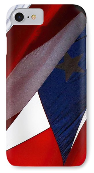 United States Flag Abstract IPhone Case