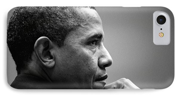 United States President Barack Obama Bw IPhone 7 Case