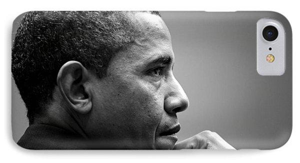 United States President Barack Obama IPhone Case by Celestial Images
