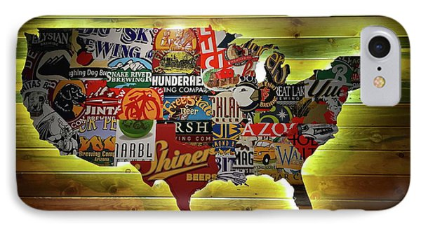 United States Wall Art IPhone Case