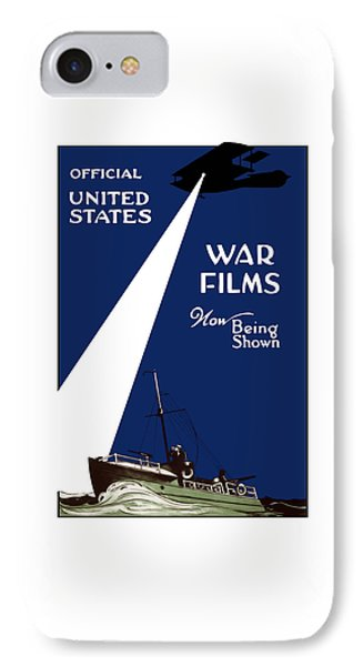 United States War Films Now Being Shown IPhone Case by War Is Hell Store