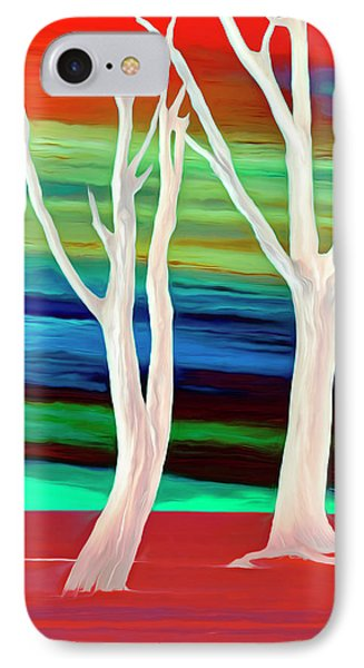 IPhone Case featuring the photograph United Trees by Munir Alawi