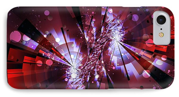 IPhone Case featuring the digital art Universal by Michelle H