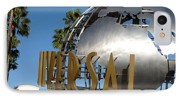 Universal Studios Globe IPhone Case by Jeff Lowe