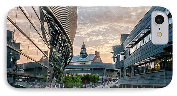 University Of Cincinnati On A September Evening IPhone Case by Rob Amend