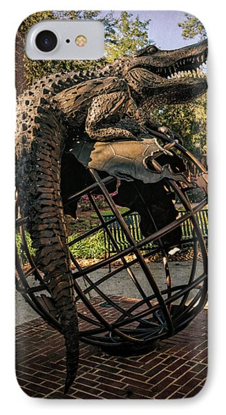IPhone Case featuring the photograph University Of Florida Sculpture by Joan Carroll
