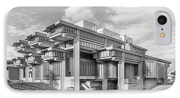 University Of Massachusetts Dartmouth Amphitheater IPhone Case by University Icons
