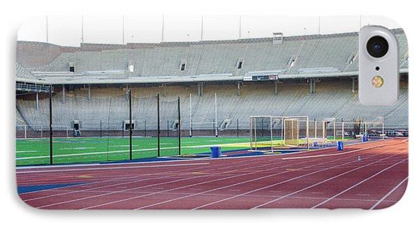 University Of Penn Franklin Field Track IPhone Case by Bill Cannon