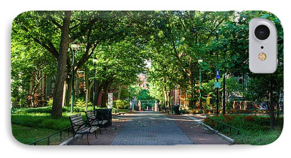 IPhone Case featuring the photograph University Of Pennsylvania Campus - Philadelphia by Bill Cannon