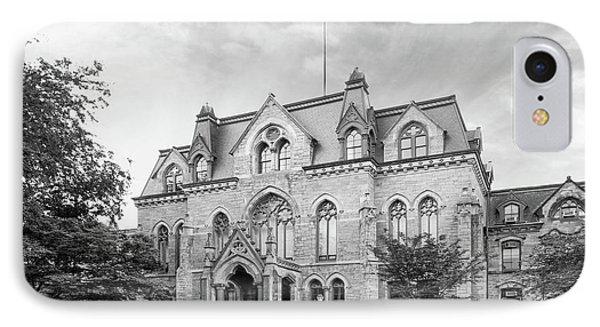 University Of Pennsylvania College Hall Phone Case by University Icons