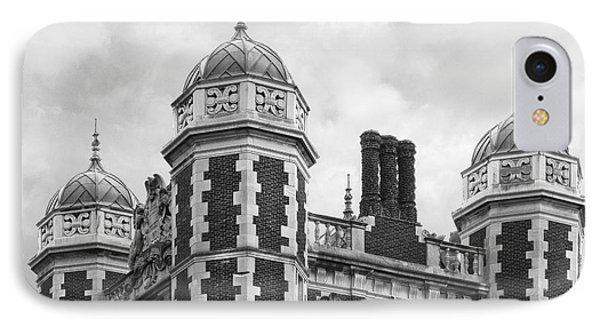 University Of Pennsylvania Quadrangle Towers IPhone Case by University Icons