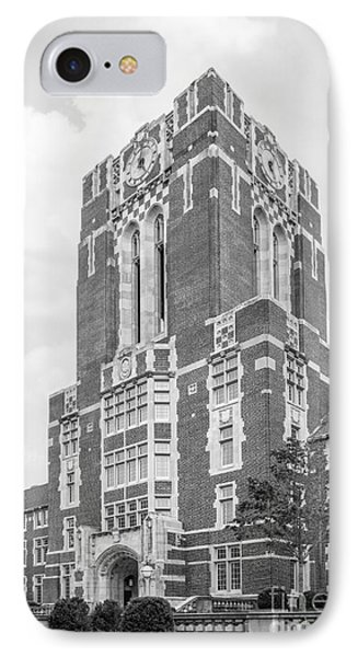 University Of Tennessee Ayres Hall IPhone Case by University Icons