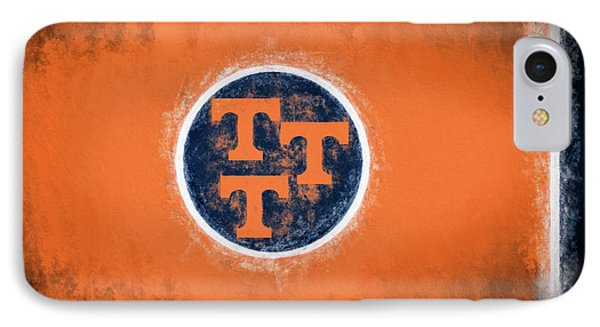 IPhone 7 Case featuring the digital art University Of Tennessee State Flag by JC Findley