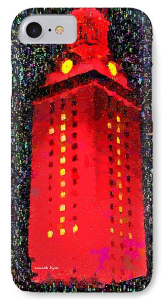 University Of Texas At Austin Tower 11 - Pa IPhone Case