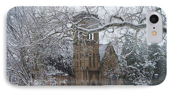 University Of Virginia Chapel Phone Case by Charlotte Gray