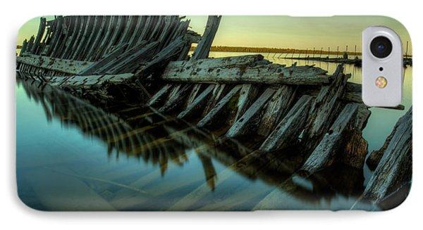 Unknown Shipwreck Phone Case by Jakub Sisak