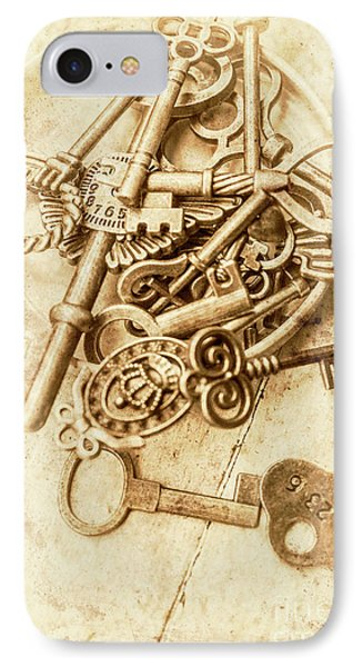 Unlocking The Past IPhone Case by Jorgo Photography - Wall Art Gallery