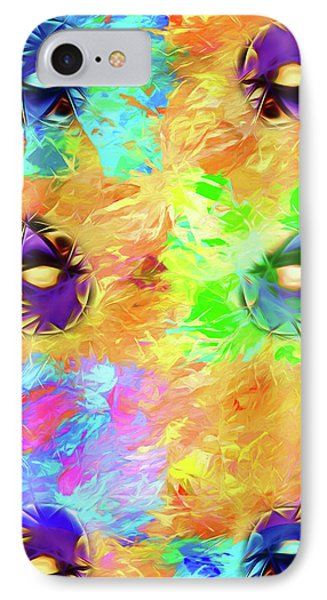 IPhone Case featuring the digital art Unmasked by John Haldane