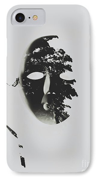 Unmasking In Silence IPhone Case