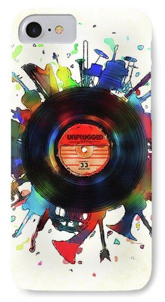 Unplugged IPhone Case by Mustafa Akgul