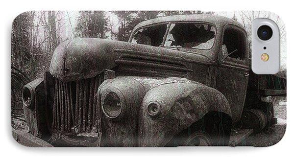 Truck iPhone 7 Case - Unquiet Slumbers For The Sleeper by Jerry LoFaro