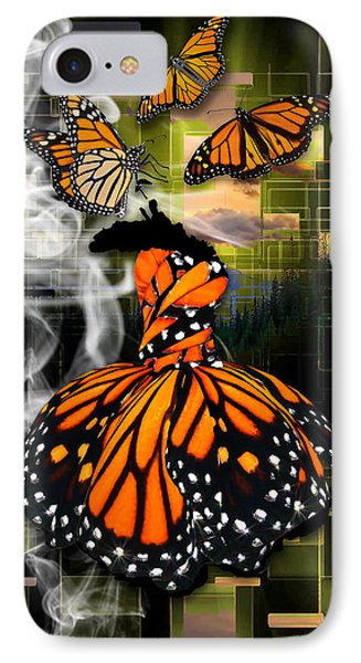 IPhone Case featuring the mixed media Unrestricted by Marvin Blaine