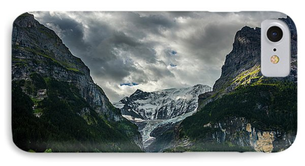 Unterer Grindelwaldgletscher - Grindelwald - Switzerland IPhone Case