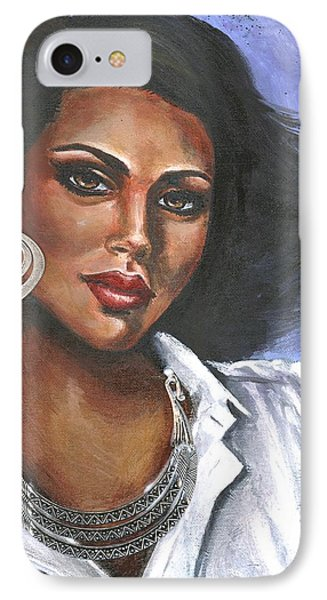 IPhone Case featuring the painting Untitled by Alga Washington