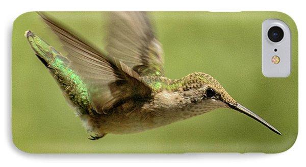 Untitled Hum_bird_one IPhone Case