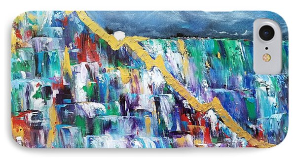 IPhone Case featuring the painting Untitled by Judith Rhue