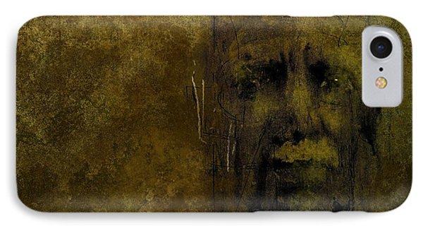 Untitled Portrait 06june2015 IPhone Case by Jim Vance