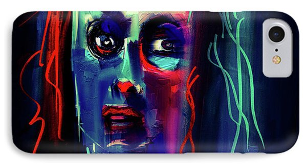 IPhone Case featuring the digital art Untitled Portrait - 23july2017 by Jim Vance