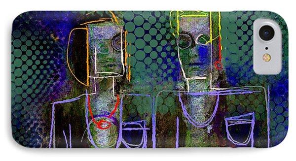 Untitled Portrait June 6 2015 IPhone Case by Jim Vance