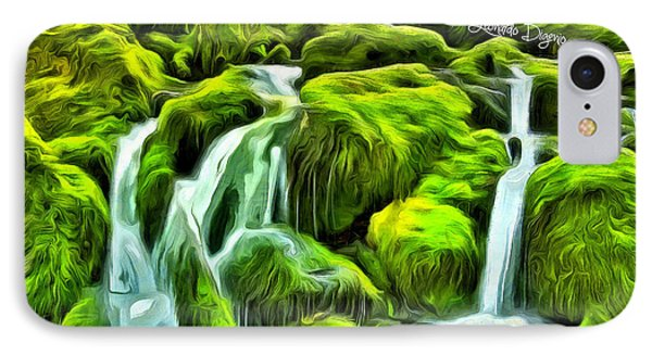 Untouched Nature IPhone Case by Leonardo Digenio