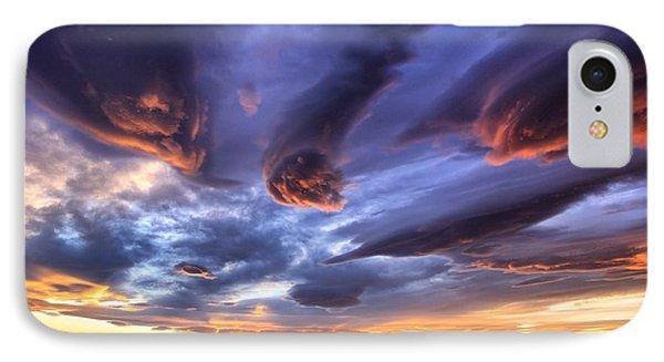 Alien Cloud Formations IPhone Case