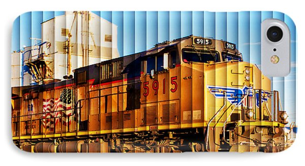 Up 5915 At Track Speed IPhone Case by Bill Kesler