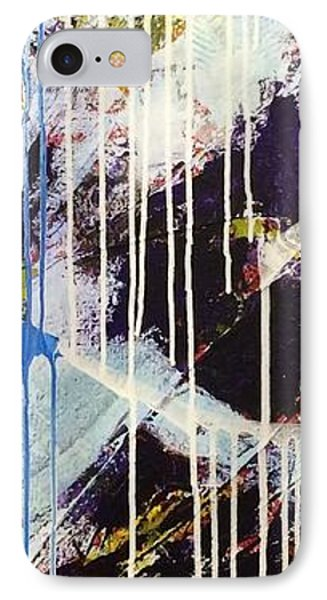 IPhone Case featuring the painting Up In The Air by Sheila Mcdonald