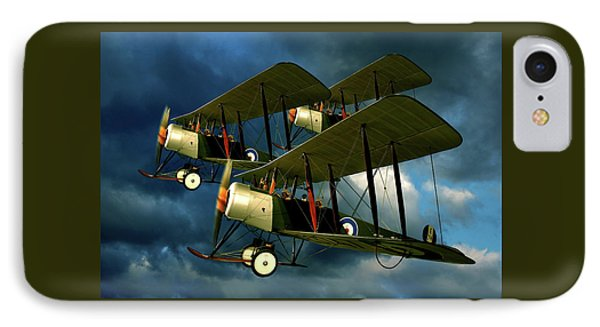 IPhone Case featuring the photograph Up In The Air by Steven Agius