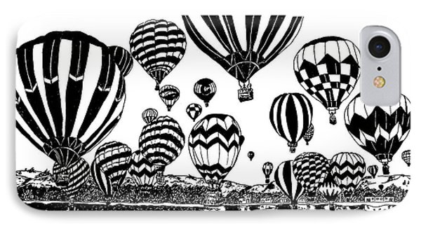 Up In The Air IPhone Case by Vicki  Housel