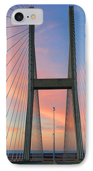 Up On The Bridge IPhone Case