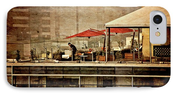 IPhone Case featuring the photograph Up On The Roof - Miraflores Peru by Mary Machare