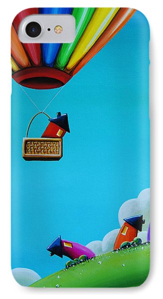 Up Up And Away Phone Case by Cindy Thornton