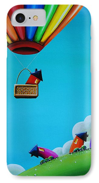 Up Up And Away IPhone Case by Cindy Thornton