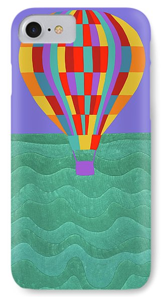 Up Up And Away IPhone Case by Synthia SAINT JAMES