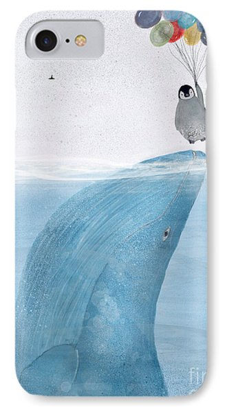 IPhone Case featuring the painting Uplifting by Bri B