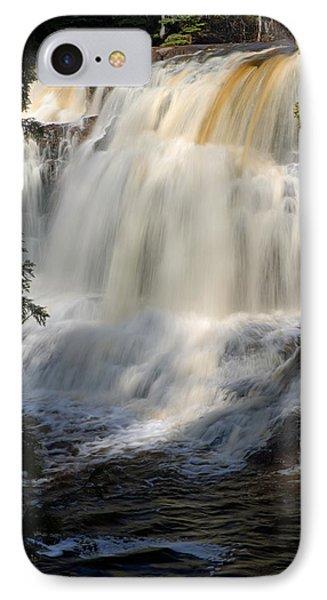 Upper Falls Gooseberry River 2 Phone Case by Larry Ricker