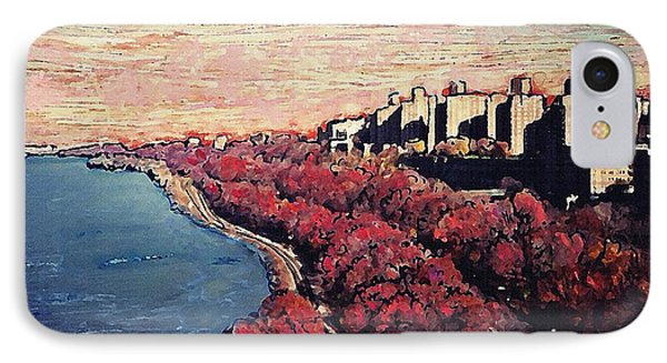 Upper Manhattan Along The Hudson River IPhone Case by Sarah Loft