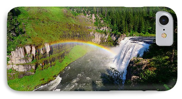 Upper Mesa Falls IPhone Case by Greg Norrell