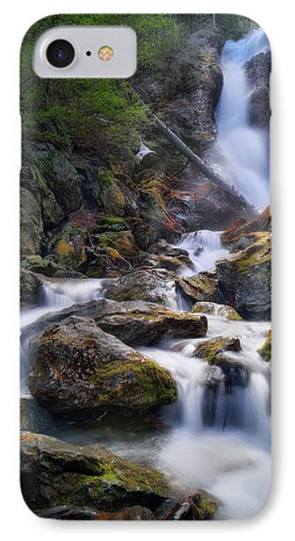 IPhone Case featuring the photograph Upper Race Brook Falls 2017 by Bill Wakeley